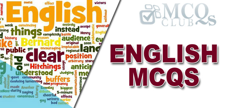 English Grammar MCQs