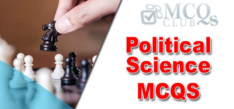 Political Science MCQs