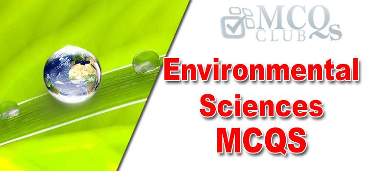Environmental Sciences MCQa