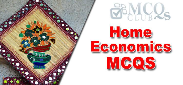 Home Economics MCQs
