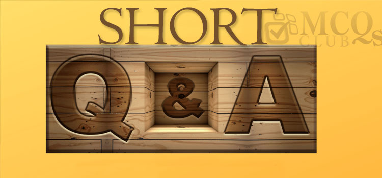 General Knowledge Short Questions
